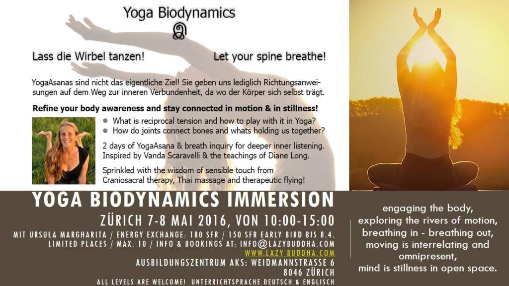 Yoga Biodynamics Immersion